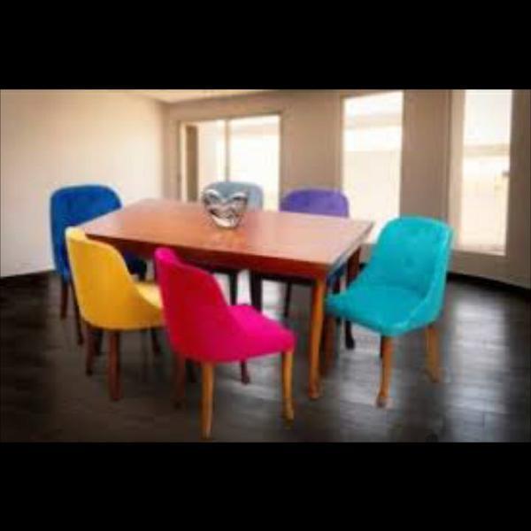 نهار خوری ،سرویس غذا خوری میز و صندلی رشت دیوار