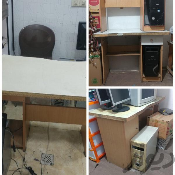 7 عدد میز کامپیوتر|میز و صندلی|رشت|دیوار