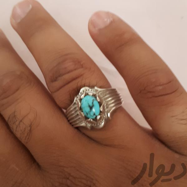انگشتر فیروزه نیشابور|جواهرات|قم، عمار یاسر|دیوار