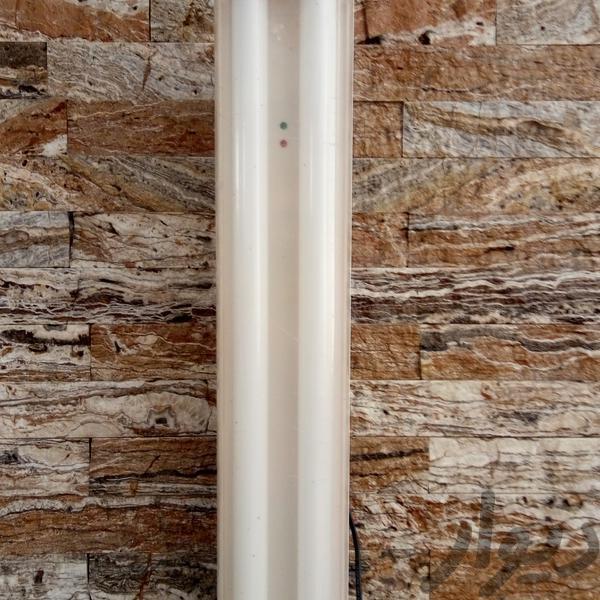 چراغ شارژی twin bazooka سایز بزرگ با پایه لوازم روشنایی کرمان دیوار
