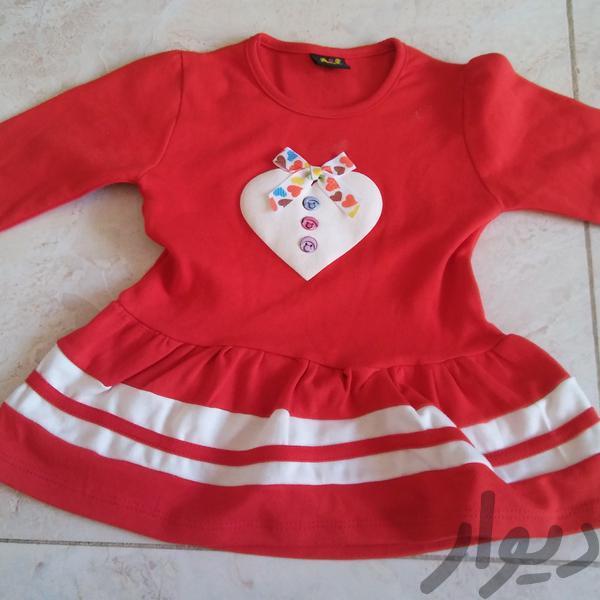پیراهن دخترانه مناسب 1 تا 1.5 شیک و نو|کفش و لباس بچه|مشهد، قوچان|دیوار