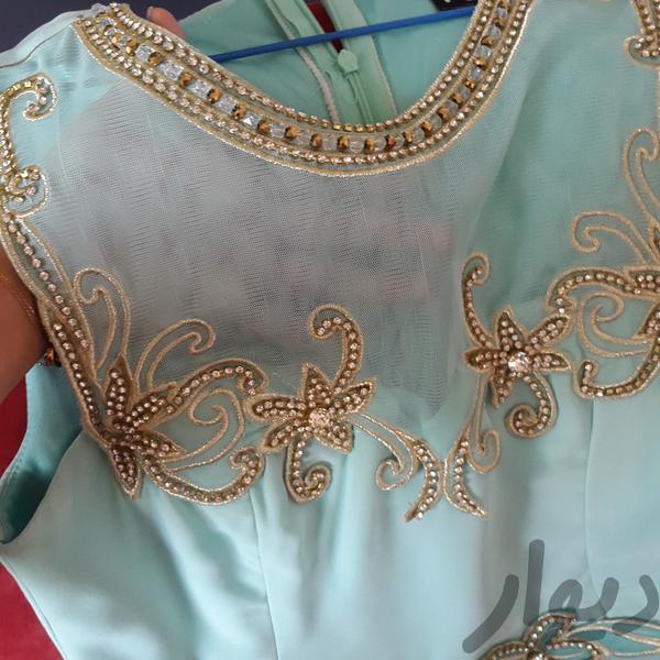 پیراهن مجلسی چند ساعت برای ساغدوشی استفاده شده|لباس|تهران، تهرانپارس شرقی|دیوار