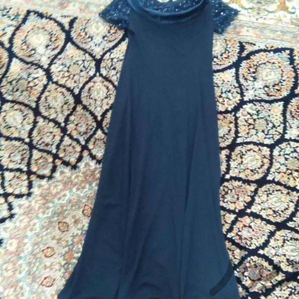 لباس مجلسی سرمه ای رنگ|لباس|دورود|دیوار