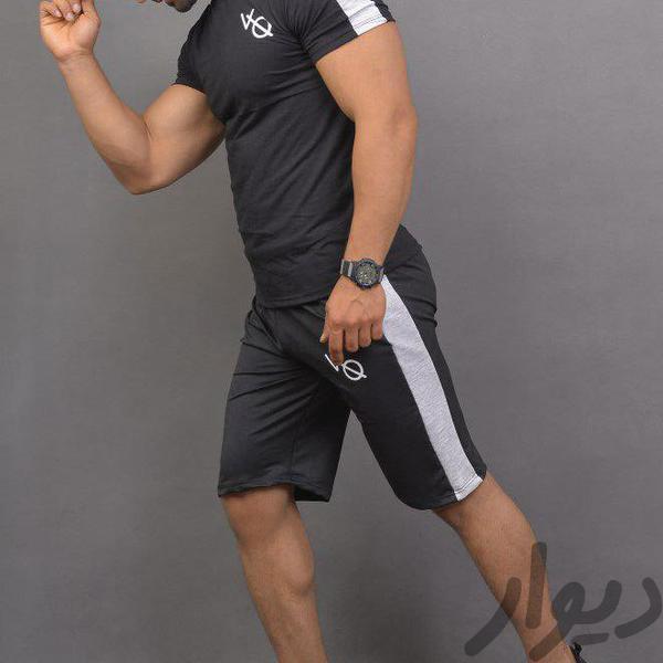 ست تیشرت وشلوارک مردانه تجهیزات ورزشی قم، آذر دیوار