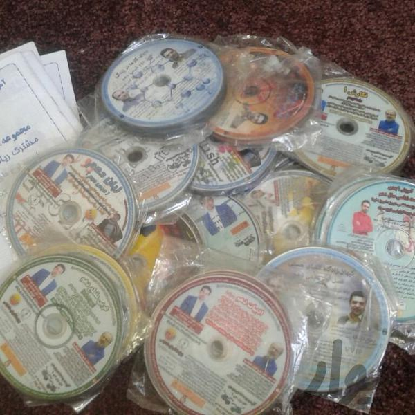 دی وی دی های کامل پایه دهم موسسه گیلنا|حراج|تهران، قرچک|دیوار