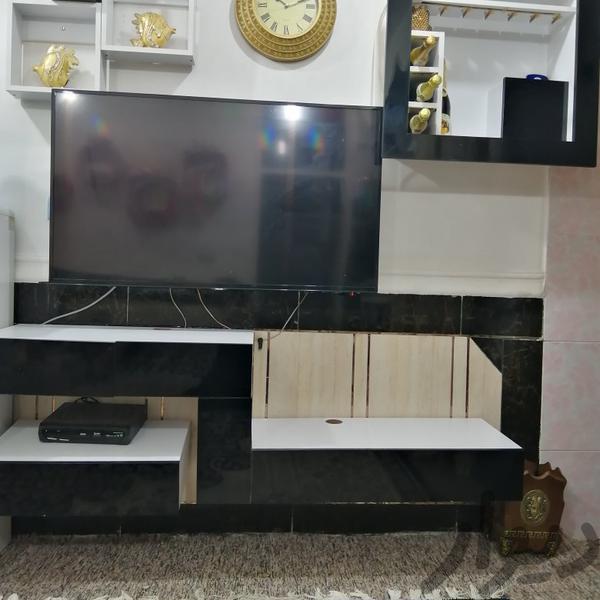 میزLCD میز تلویزیون و وسایل سیستم پخش اهواز، زرگان دیوار