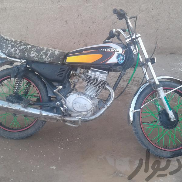 متور 200 دست ساز درحد خشک  مدل 89 مدارک کامل|موتورسیکلت و لوازم جانبی|زاهدان|دیوار