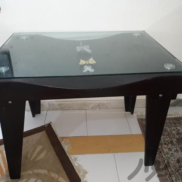میز نهار خوری|میز و صندلی|رشت|دیوار
