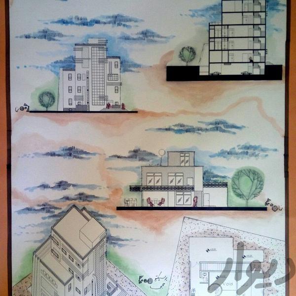 انجام امور نقشه کشی معماری ساختمان|پیشه و مهارت|همدان|دیوار