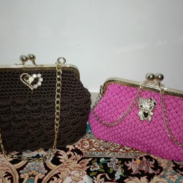 کیف زنانه دست بافت|کیف_کفش_کمربند|قم، پردیسان|دیوار