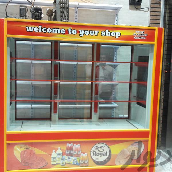 دوعددیخچال ویترینی ویک عددمیز ویترینی|فروشگاه و مغازه|تهران، دولاب|دیوار