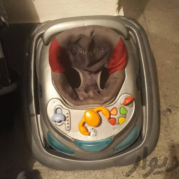 لوازم نوزاد در حد نو|کالسکه و لوازم جانبی|تهران، پرند|دیوار