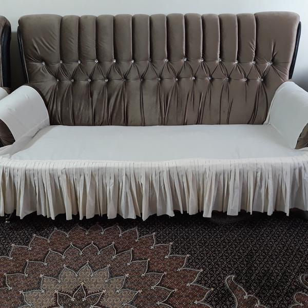 مبل راحتی ۷ نفره همراه میز عسلی|مبلمان و صندلی راحتی|همدان|دیوار