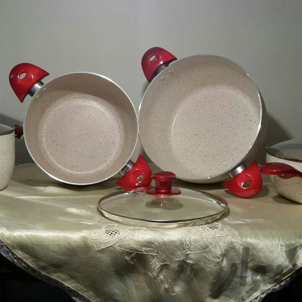 سرویس 7 پارچه تمام گرانیتی وسایل آشپزی و غذاخوری تهران، خلیج فارس دیوار