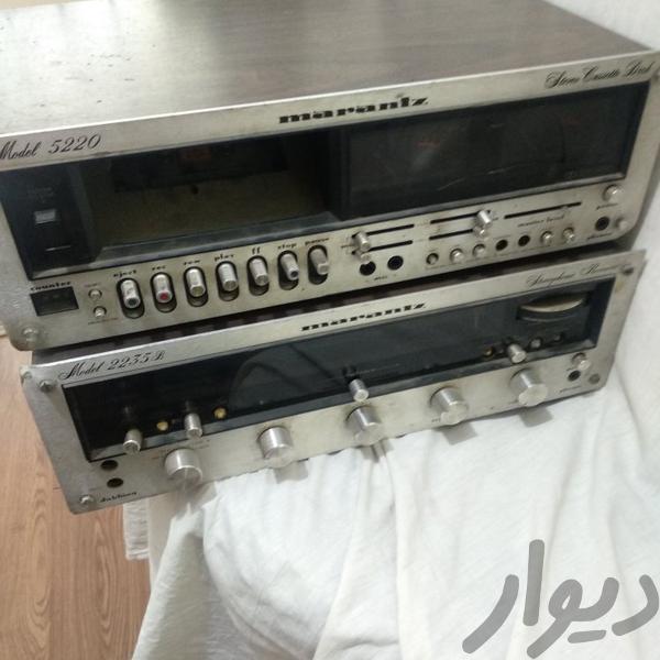 آمپلی و دک مدل marantez سیستم صوتی خانگی تهران، مرزداران دیوار