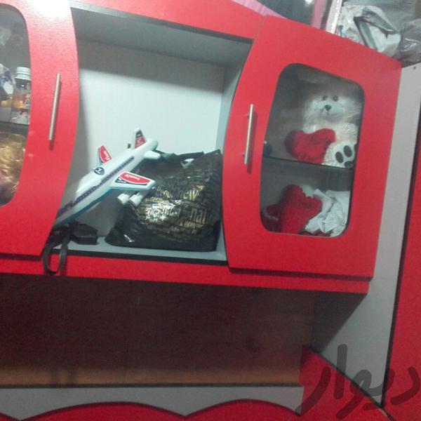 تخت و کمد بچه همراه تشک تخت و صندلی بچه تهران، افسریه دیوار