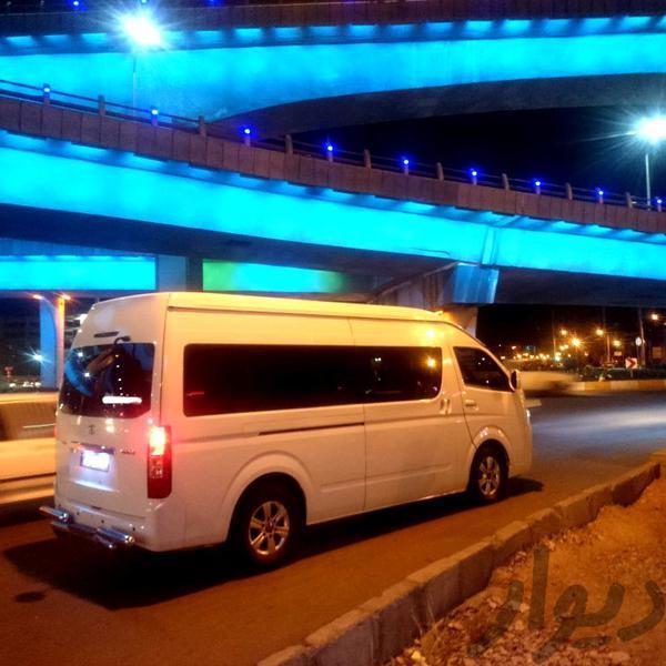 اجاره ون تویوتا توریستی در شیراز|اجارهای|شیراز، پل غدیر|دیوار
